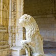 The water lion in the beautiful Jeronimos Monastery in Lisbon — Stock Photo #19430915
