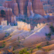 Beautiful landscape in Bryce Canyon with magnificent Stone forma — ストック写真