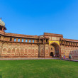 Jahangiri Mahal in the red Fort in Agra — Stock Photo #19506417