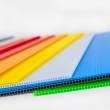 Packaging material in different colors — Stock Photo