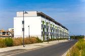 New housing area in beautiful landscape near Frankfurt — Stock Photo