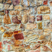 Old medieval stone wall — Stock Photo