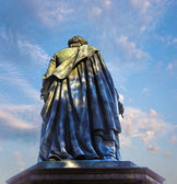Statue of Friedrich Schiller — Stock Photo