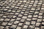 Cobblestone street — Foto Stock