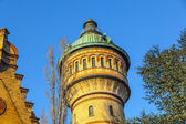 Famous watertower in Biebrich, Wiesbaden — Stock Photo