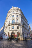 Famous coffeehaus cafe Griensteidl in Vienna — Stock Photo