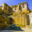 Stock Photo: Jaisalmer fort in Rajasthan, India