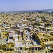 Aerial view of Jaisalmer City, Rajasthan, India — Stock Photo #19987493