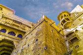 крепость джайсалмер в штате раджастхан, индия — Стоковое фото