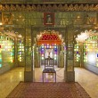 Stock Photo: Inside City Palace in Udaipur
