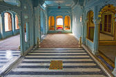 Inside the City Palace in Udaipur — Stock Photo