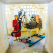 Horse Chetak in the palace - Stock Photo