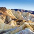 Stock Photo: Zabriskie point at death valley