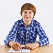 Smart boy learning for school — Stock Photo #20086595