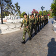 Stock Photo: Changing guard in Bang PIn