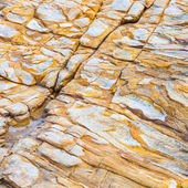 Beautiful pattern in Stone at the coast — Stock Photo