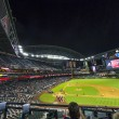 Football game Arizona Diamondbacks versus Oakland Athletics - Stock Photo