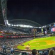 Football game Arizona Diamondbacks versus Oakland Athletics - ストック写真