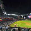 Football game Arizona Diamondbacks versus Oakland Athletics — 图库照片