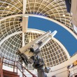 Famous Zeiss telescope at the Griffith observatory — Foto Stock