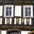 Stock Photo: Apostel half timbered house in fairy tale town of Steinau