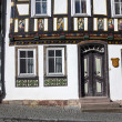 Apostel half timbered house in fairy tale town of Steinau — Stock Photo