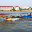 In the boat at the river Mae Nam Chao Phraya in Bangkok - Стоковая фотография