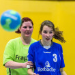 Handball Match Ladies TS against  VFL Goldstein 2 — Lizenzfreies Foto