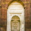 Islamic grave with inscriptions at qutub minar in Delhi, India — Stock Photo