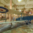 Old de Havilland DH9 in the palace of Bikaner - Stock Photo
