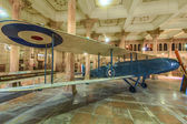 Old de Havilland DH9 in the palace of Bikaner — Stock Photo
