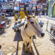 Ox cart transportation in india — Stock fotografie #21600155