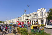 At the Connaught place in Delhi — Stock Photo