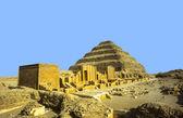 Pyramides in Sakara, Egypt — Stock Photo