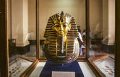 Gold Mask of Tutankhamun — 图库照片