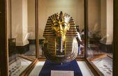 图坦卡蒙的金面具 — 图库照片