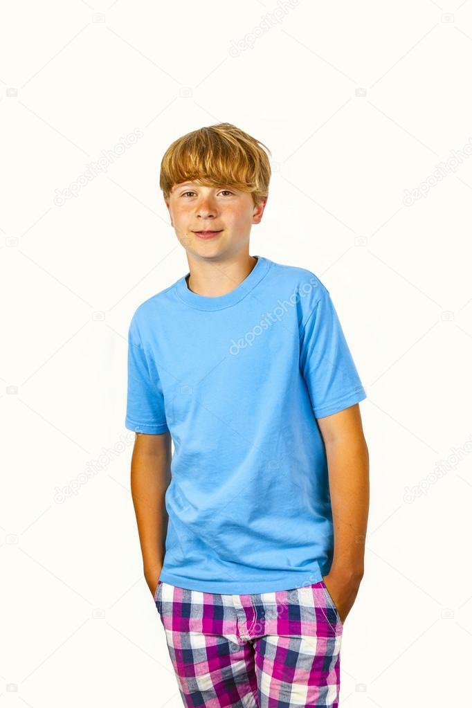 Cute bold faced boy � Stock Photo � Hackman #22339141
