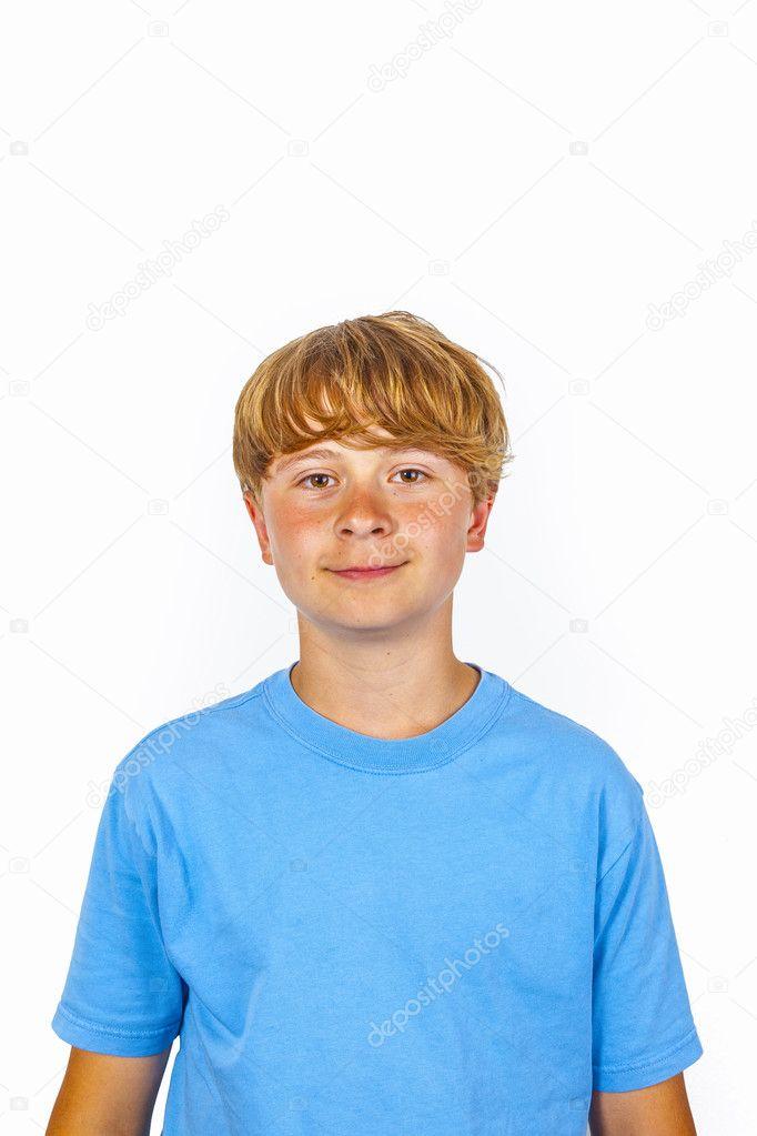 Cute bold faced boy � Stock Photo � Hackman #22340191