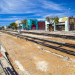 Постер, плакат: Streetcar renovation downtown Tucson Arizona