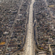 Aerial of Los Angeles — Foto Stock