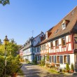 Beautiful half-timbered houses in Frankfurt Hoechst  — Stock Photo