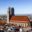 Stock Photo: Famous Munich Cathedral - Liebfrauenkirche