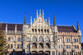 City hall of Munich at the Marienplatz — Stock Photo