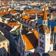 View to old town hall in Munich - Stock Photo