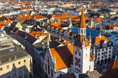 View to old town hall in Munich — Stock Photo