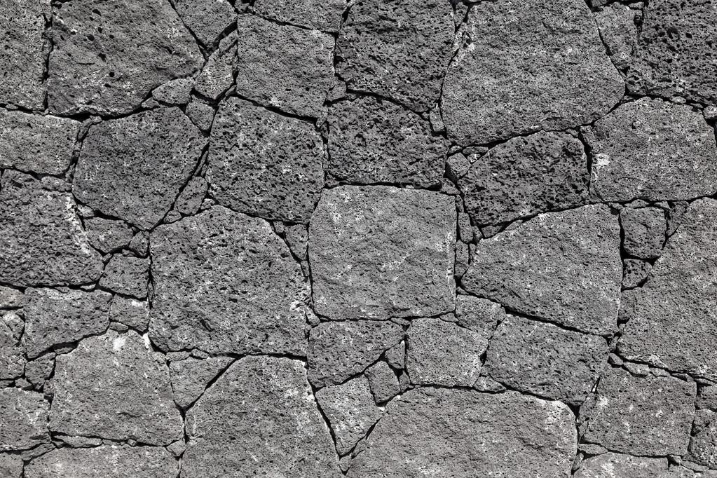Texture of The Black Volcanic