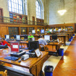 People study in the New York Library - Stock Photo