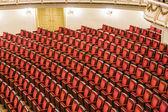 Semperova opera z uvnitř — Stock fotografie
