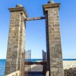 Castle Castillo de San Gabriel in Arrecife, Lanzarote, Canary Is — Stock Photo #23819265