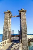 Castle Castillo de San Gabriel in Arrecife, Lanzarote, Canary Is — Stock Photo